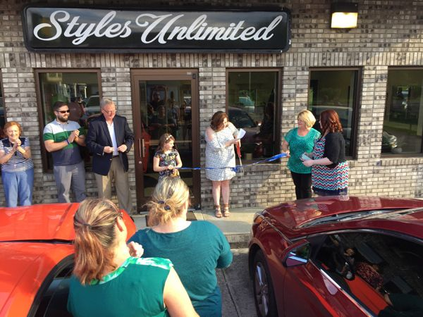 Styles Unlimited Ribbon Cutting